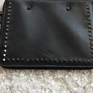 8477feed5 Valentino Garavani Accessories   Valentino Rockstud Clutch Ipad Case ...